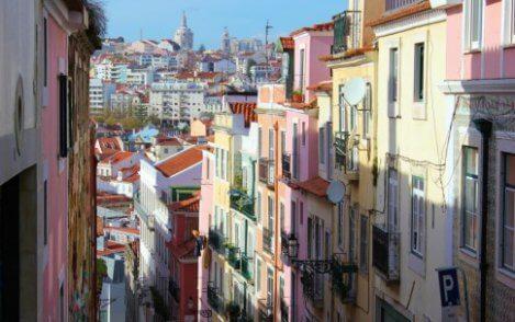 straatje in lissabon